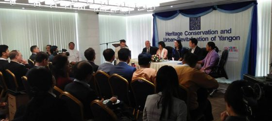 Coordination Meeting & Heritage Conservation & Urban Revitalisation of Yangon Seminar