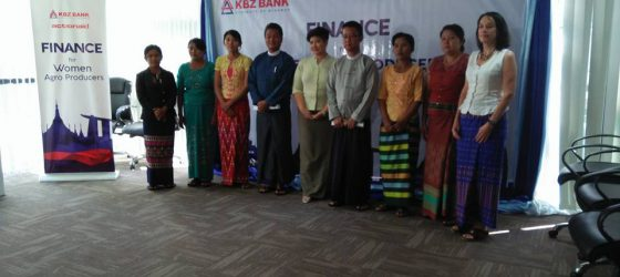 Press Launch of KBZ ActionAid Partnership: Improving Access to Finance for Woman Farmers