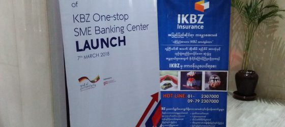 Press Conference of KBZ Bank